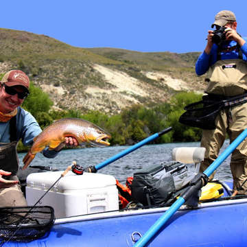 fly fishing rio limay
